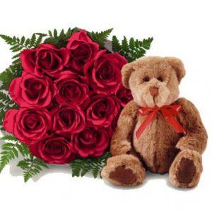 Meda i ruže - CG