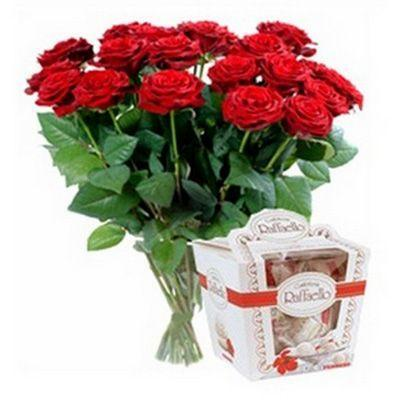 Ruže i raffaello - CG