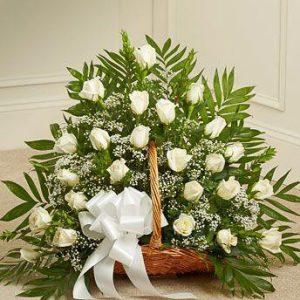 Belo Cveće u korpi 2