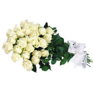 Buket belih ruža