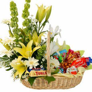 Cveće i slatkiši