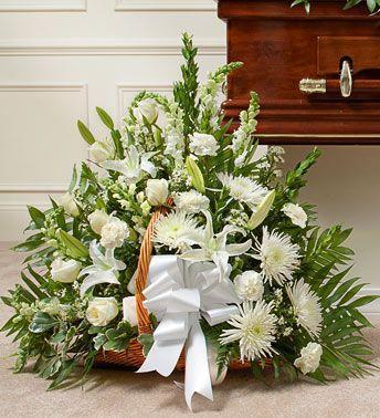 Belo Cveće u korpi 1