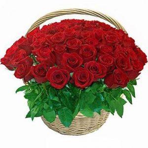 Korpa sa 51 ružom