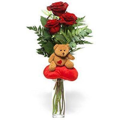 Ruže sa igračkom