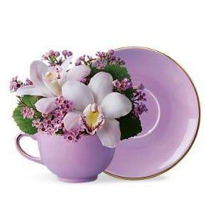 Šolja sa cvećem - CG