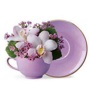 Šolja sa cvećem