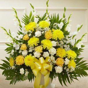 Žuta Ikebana 1